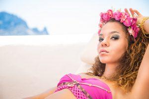 """""""Ibiza"""" / dressed by Martine Schramm / photos by Isabella Lopez"""